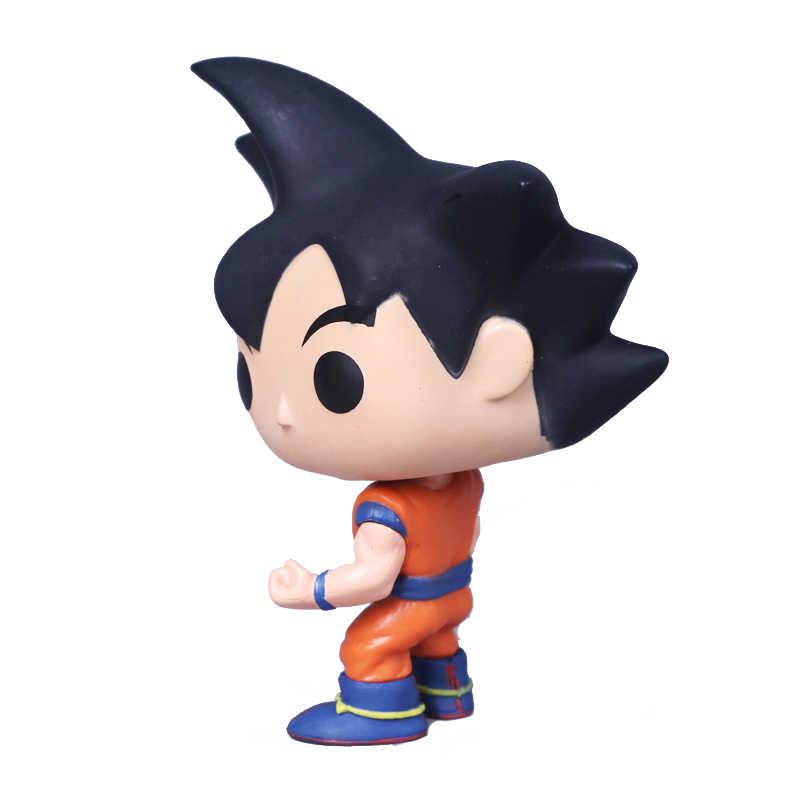Funko поп японского аниме Dragon Ball Гоку с черными волосами винил фигурку Коллекция Модель игрушечные лошадки для детей подарок на день рождения