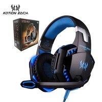 KOTION MỖI G2000 Trò Chơi Tai Nghe PC Gamer Stereo Bao Quanh Sound Sâu Bass Over-Ear Chơi Game Tai Nghe Có Mic Cho Trò Chơi máy tính