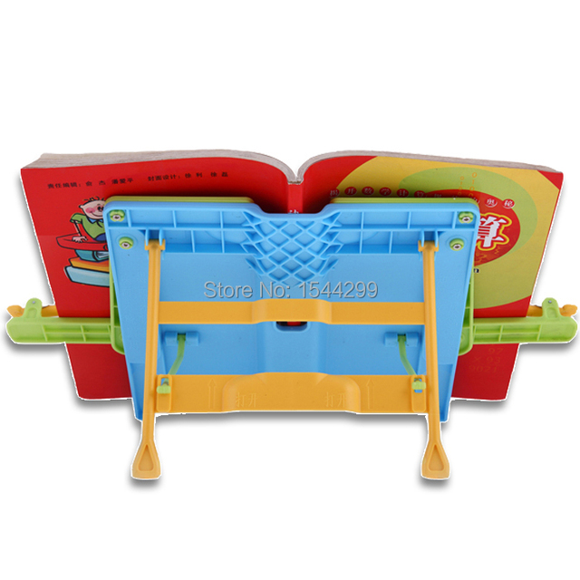 Furniture Hardware Accessories Handles Reading frame adjustable child reading books rack reading frame bookend supplies