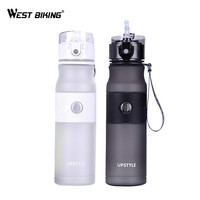 WEST BIKING Cycling Sport Water Bottle Professional Leak Proof Bicycle Water Cups Portable 620ML Camping Travel
