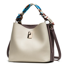 Womens Handbag Hot Sale High Qulity PU Leather New Fashionable Bucket Bag Messenger Bags