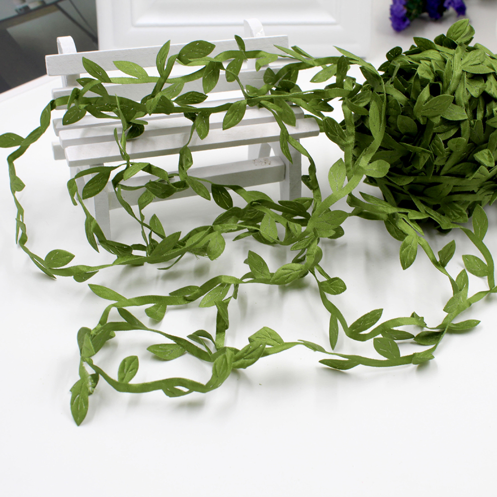 Home & Garden Party Diy Decorations Intelligent 20 Meter Silk Nature Green Artificial Leaf Leaves Vine Wedding Decoration Wreath Fake Flowers Garland For 2019