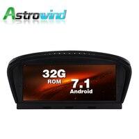 8,8 дюймов 32G ROM Android 7,1 Авто плеер gps навигации Системы Media стерео для BMW 3 серии E90 для BMW 5 серии E60 с CCC