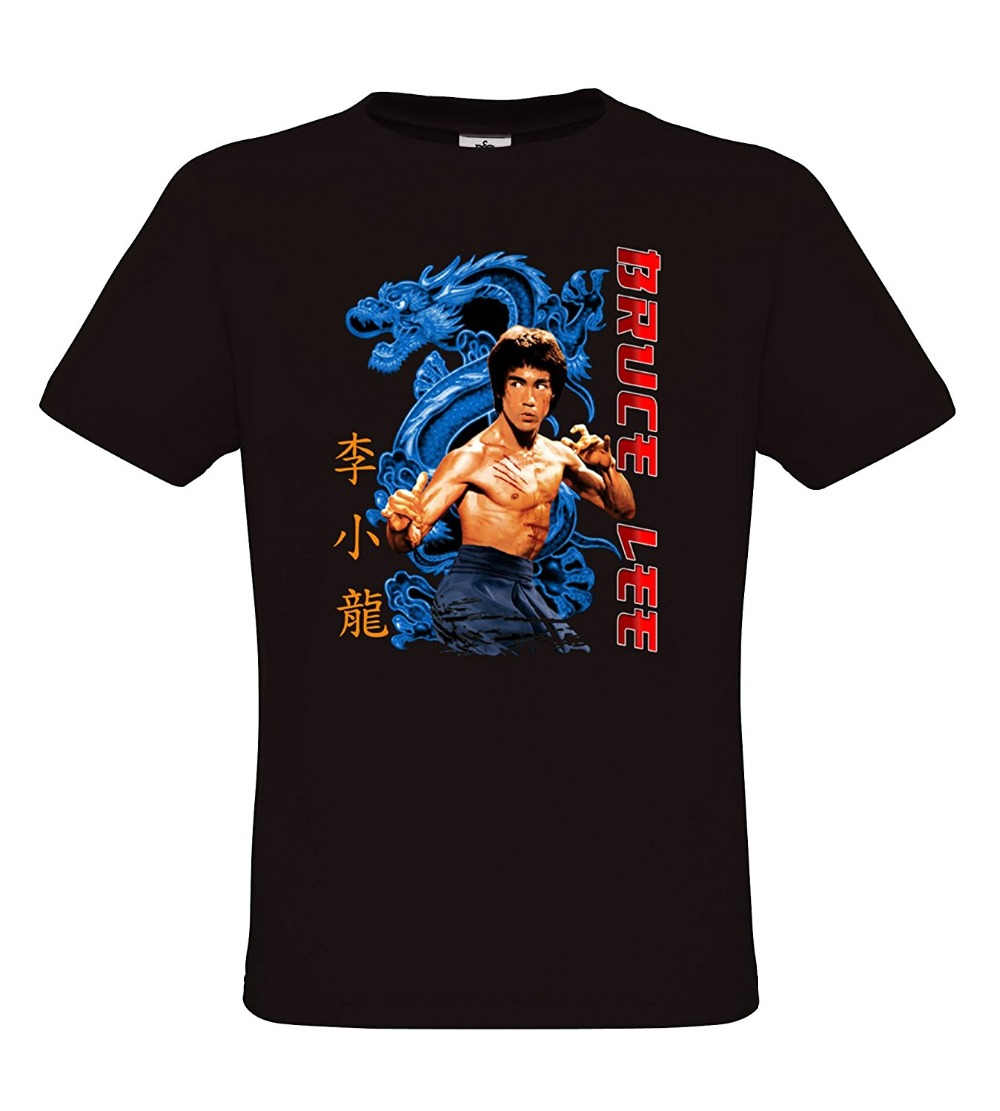 2019 Fashion Hot Bruce Lee - Blue Dragon - Womens & Mens Kung Fu & Martial <font><b>Ar</b></font> T-<font><b>Shirt</b></font> T <font><b>shirt</b></font> image
