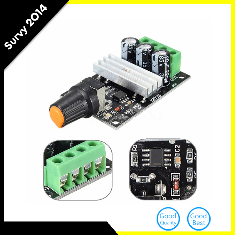 Smart Electronics PWM DC 6V 12V-28V 3A Motor Speed Control Switch Controller