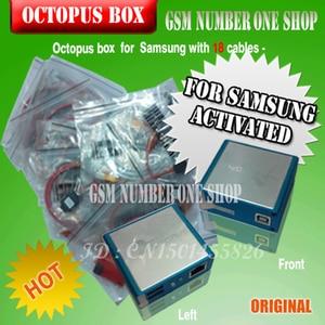 Image 4 - 100% Original nouvelle boîte de poulpe pour Samsung imei réparation et déverrouillage avec 18 câbles