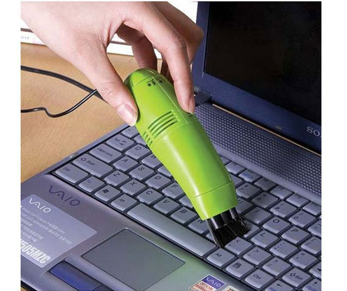 Schoffice Mini USB Vacuum Cleaner For Computer Useful Portable USB Gadgets