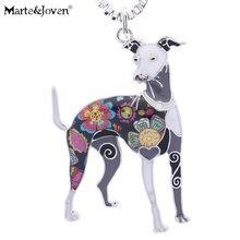 Ожерелье с подвеской marte & joven разноцветное эмалированное