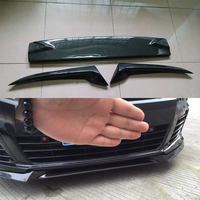 Carbon Fiber Front Bumper Lip For Volkswagen VW Golf 6 VI MK6 R20 Bumper 2010~2013
