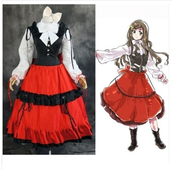 Anime APH AXIS Power HETALIA HUNGARY Cosplay Costume Custom Made Any Size
