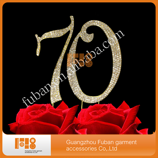 10 Pieceslotfree Shipping Cake Topper 70th Birthday Party Anniversary In Cake Decorating Supplies From Home Garden On Aliexpress Alibaba