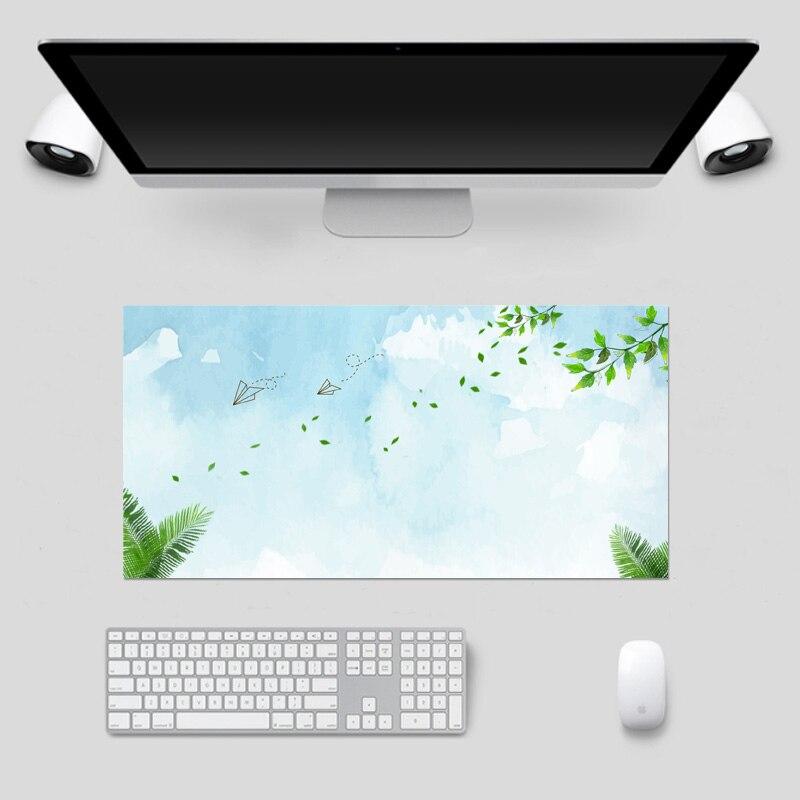 Desktop Mouse Pad Keyboard Laptop Notebook PC Table Mat Home Office Computer Desk Mousepad 80*40CM Electrostatic adsorption