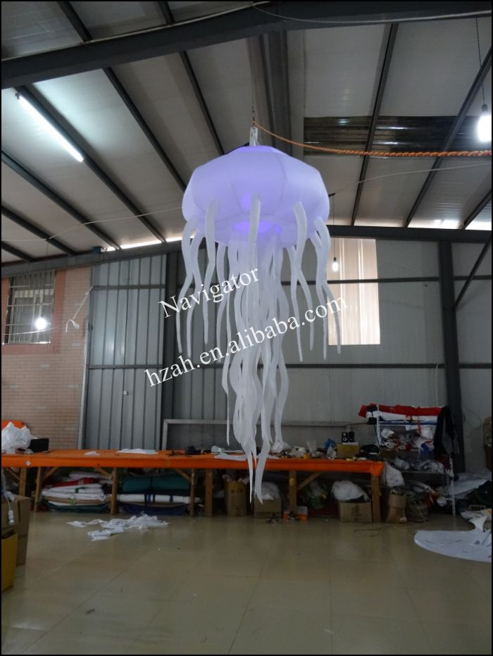Home Decoration Lighted Inflatable Jellyfish home decoration lighted inflatable jellyfish