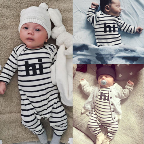 Warm Newborn Baby Girl Boy Kids Clothes Romper Jumpsuit Playsuit Outfit Clothes Set baby clothes winter keep warm flannel baby rompers baby boy girl coat next romper newborn kids clothes jumpsuit set