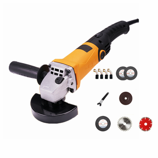220v multifunctional electric angle grinder 6 level speed adjustment long handle cutting combo 3 polishing sanding grinding wax