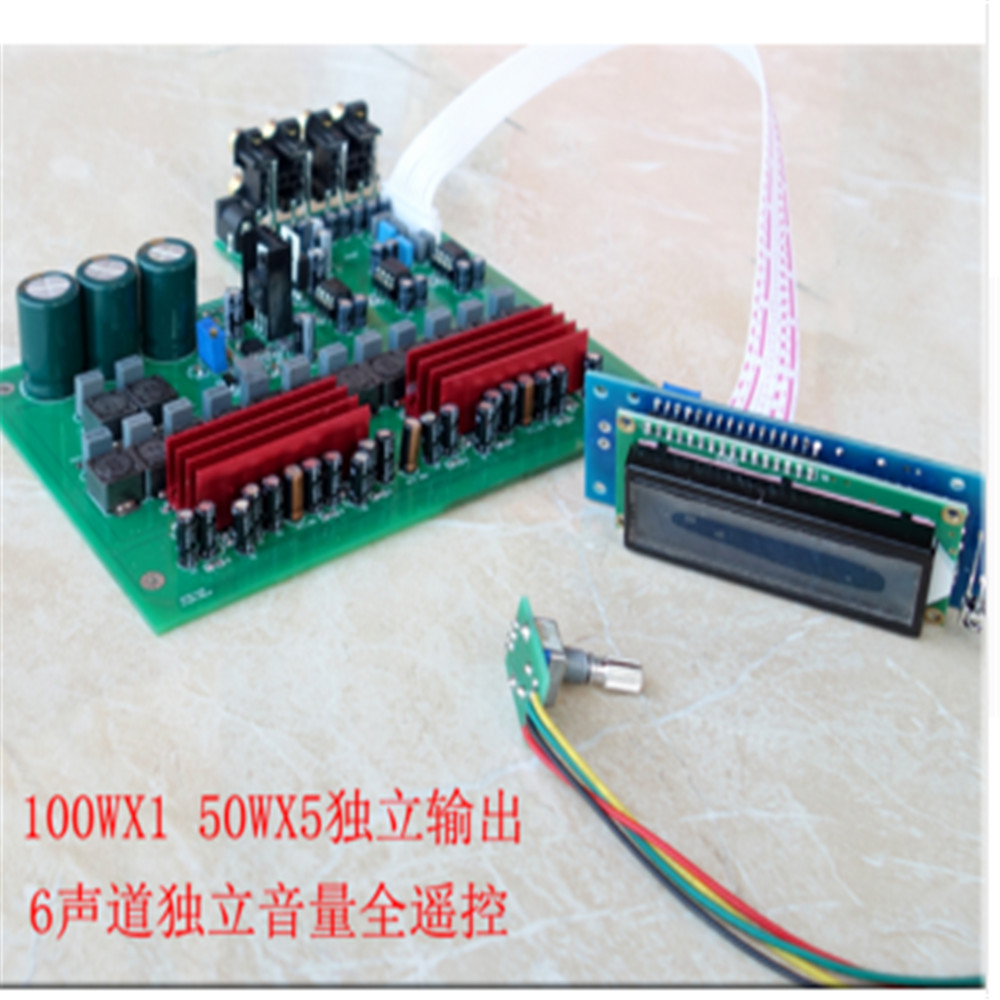 Amplifier Pcba For 6 X 160w Max Hifi Digital Class D Tda7498e Home Am Fm Radio Pcb Circuit Board And Tablet View Tpa3116 Full Remote 51 Channel