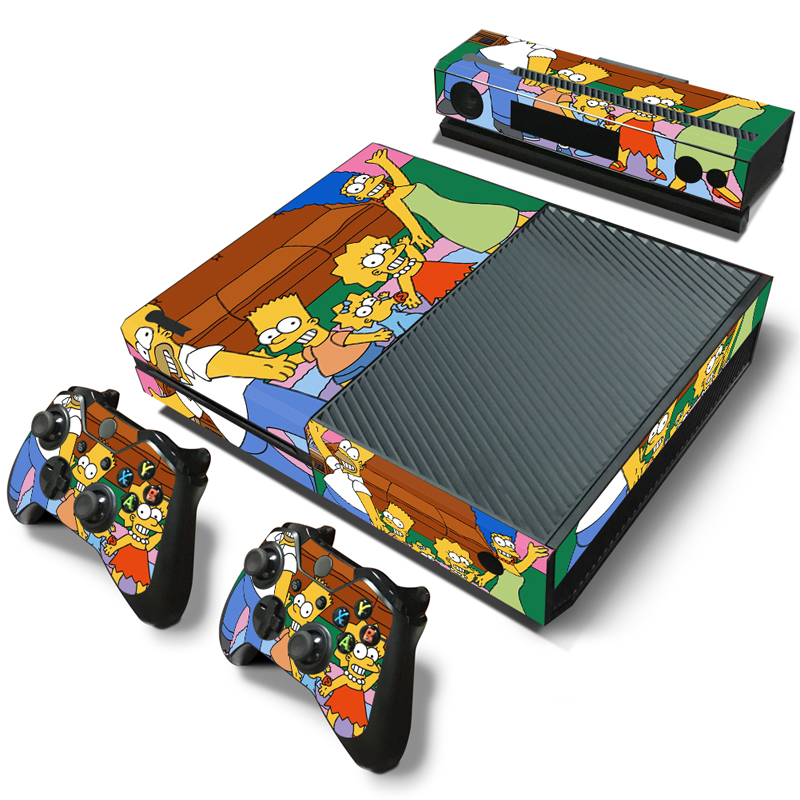 The Simpsons Movie Sticker Skin For Xbox One Console Controller The Simpsons Family