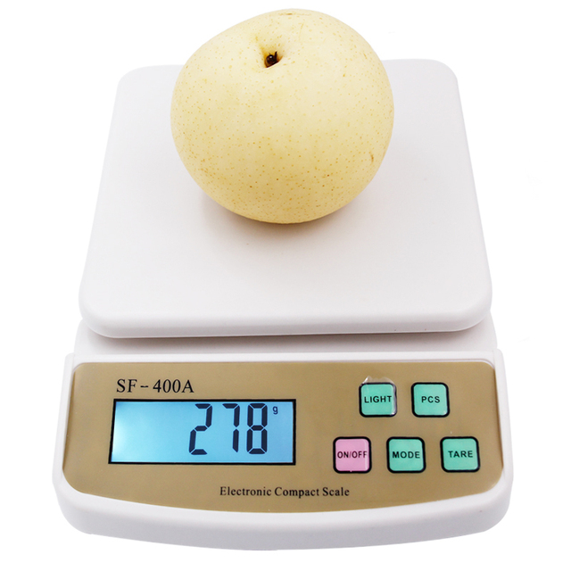 Kitchen Weight Scale Stainless Steel Sinks 33 X 22 10kg 10000g 1g Precision Digital Electronic Lcd Display Weighing Balance With Backlight 20 Off