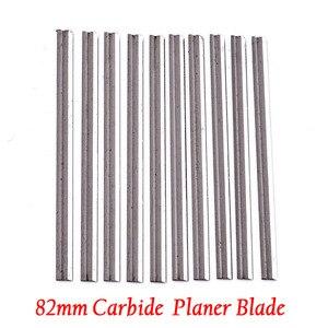 Image 5 - 10個可逆超硬プレーナーブレード82ミリメートル × 5.5ミリメートルを切断するためのソフトハード森プライ木板mayitr木工ツール