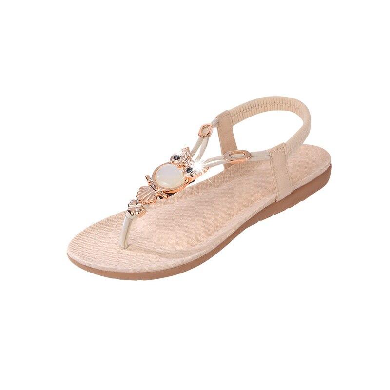Women sandals 2018 Comfort Sandals Women Summer Classic Rhinestone Fashion Flat Plus Size Sandals Size 35-42 konkord classic comfort 140x195x18