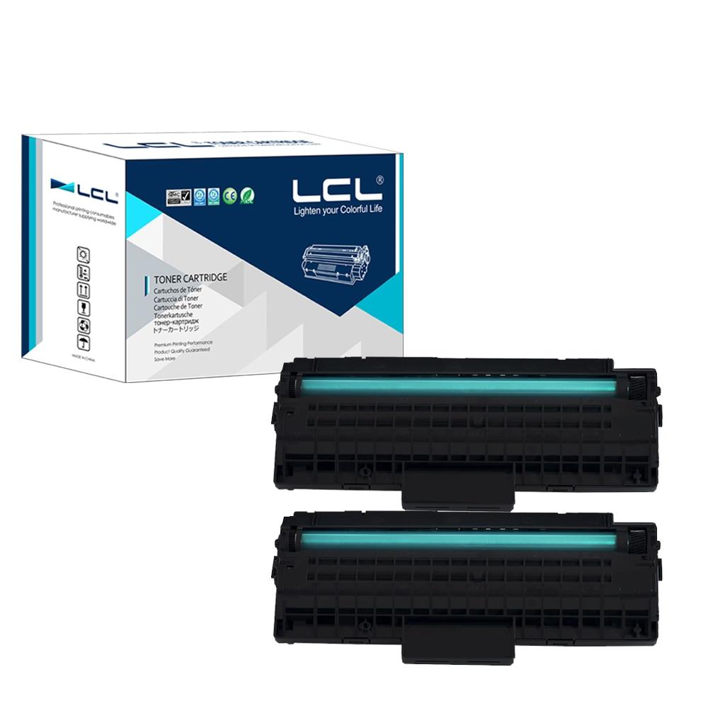 LCL MLT-D109S D109 109S 109 MLTD109S 2000 Pages (2-Pack Black) Laser Toner Cartridge Compatible for Samsung SCX-4300 угловая шлифмашина bosch gws 850 125 ce 0601378792