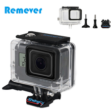 Action Camera Accessories for Gopro 5 Waterproof Housing Frame Shell Proctective Case Hero 6