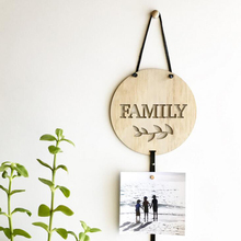 Ins Nordic style wooden photo hairpin storage home decoration hanging display Indoor Decoration Rope