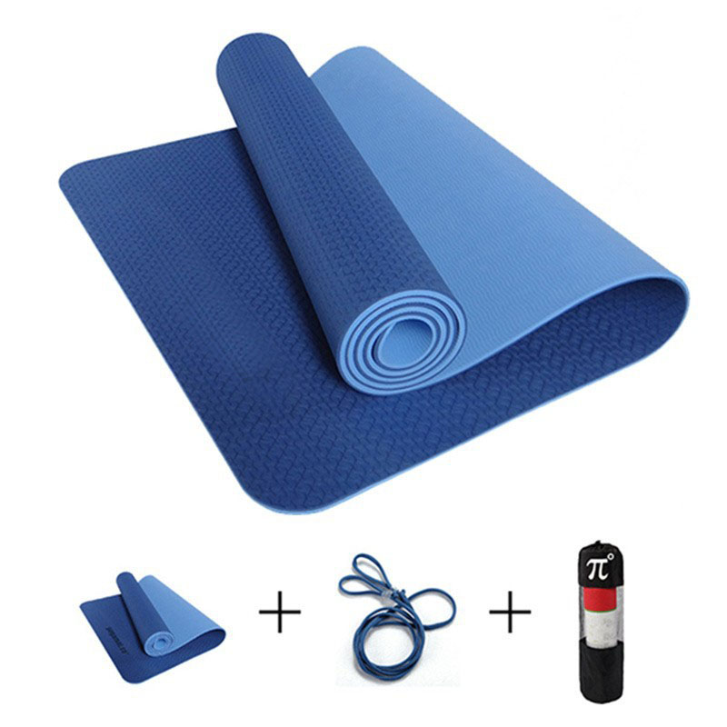 gym two thick panel folding yoga gymnastics x mats mat color fitness exercise