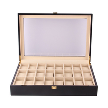 24 Slots Wooden Watches Box