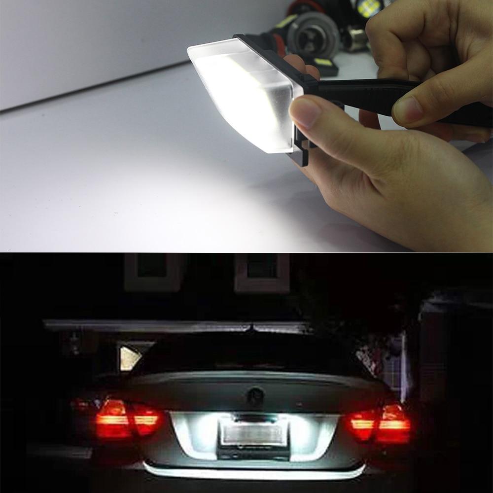 ganesh.dp.ua LED Lights Light Bulbs 2PC White LED License Plate ...