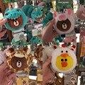 Korea New super cute Brown Bear cartoon ID Card Holder storage Bus pass bank card Girls Wallet kawaii gifts for grilfriend