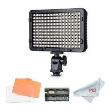 Tolifo PT-176S светодио дный видео Камера фотографии свет Панель затемнения с горячий башмак 1/4 «крепление для студии освещение DSLR и видеокамеры