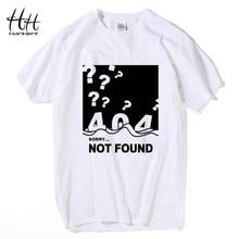 "Mega geek yet super cool ""Sorry – 404 not found"" t-shirt"