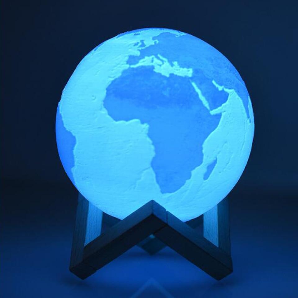 Chaohui Dropship Print Earth Lamp