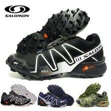 ab44523e3c4 Salomon Speed Cross 3 CS III Schoenen Mannen zapatos hombre Camo Zwart Wit  Loopschoenen Kussen Atheltic