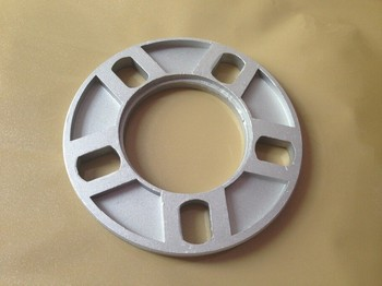 one pic 12.7mm Universal Wheel Spacer Adapter 5x108 5x114.3 5x115 5x120 Car Stying Accessories image