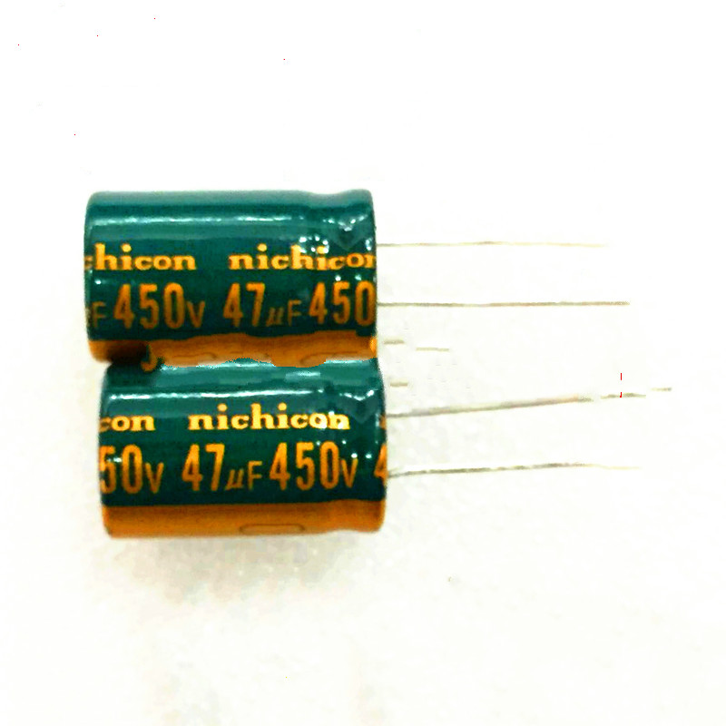 High quality free shipping 5PCS 450V47uf high frequency low resistance  resistant  electrolytic capacitor 47UF 400V 16X25MM 10pcs high quality 25v68uf high frequency and low resistance long life electrolytic capacitor 68uf 25v 5x11