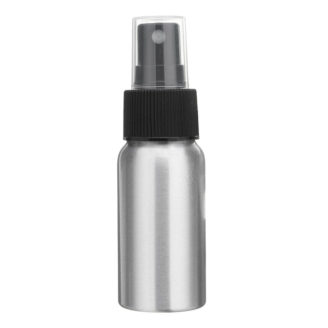 0b7d53220e56 US $1.35 |JEYL Aluminum Pump Spray Mist Bottle Dispenser Perfume Atomiser  Silver, 100ml-in Refillable Bottles from Beauty & Health on Aliexpress.com  | ...