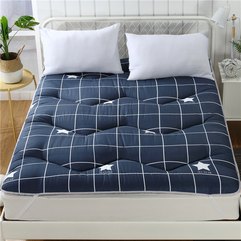 Slow Forest Queen Mattress Home Anti-Bacteria Mattress Topper Queen/King Size Bed Cover Lazy Cushion Thick 3-5cm Floor Mat