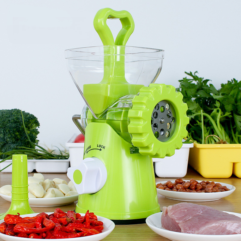 Multifunctional Home Manual Meat Grinder For Sausage Beef Mincer With Tabletop Clamp Household Cooking Machine Mincer Kitchen DIMultifunctional Home Manual Meat Grinder For Sausage Beef Mincer With Tabletop Clamp Household Cooking Machine Mincer Kitchen DI