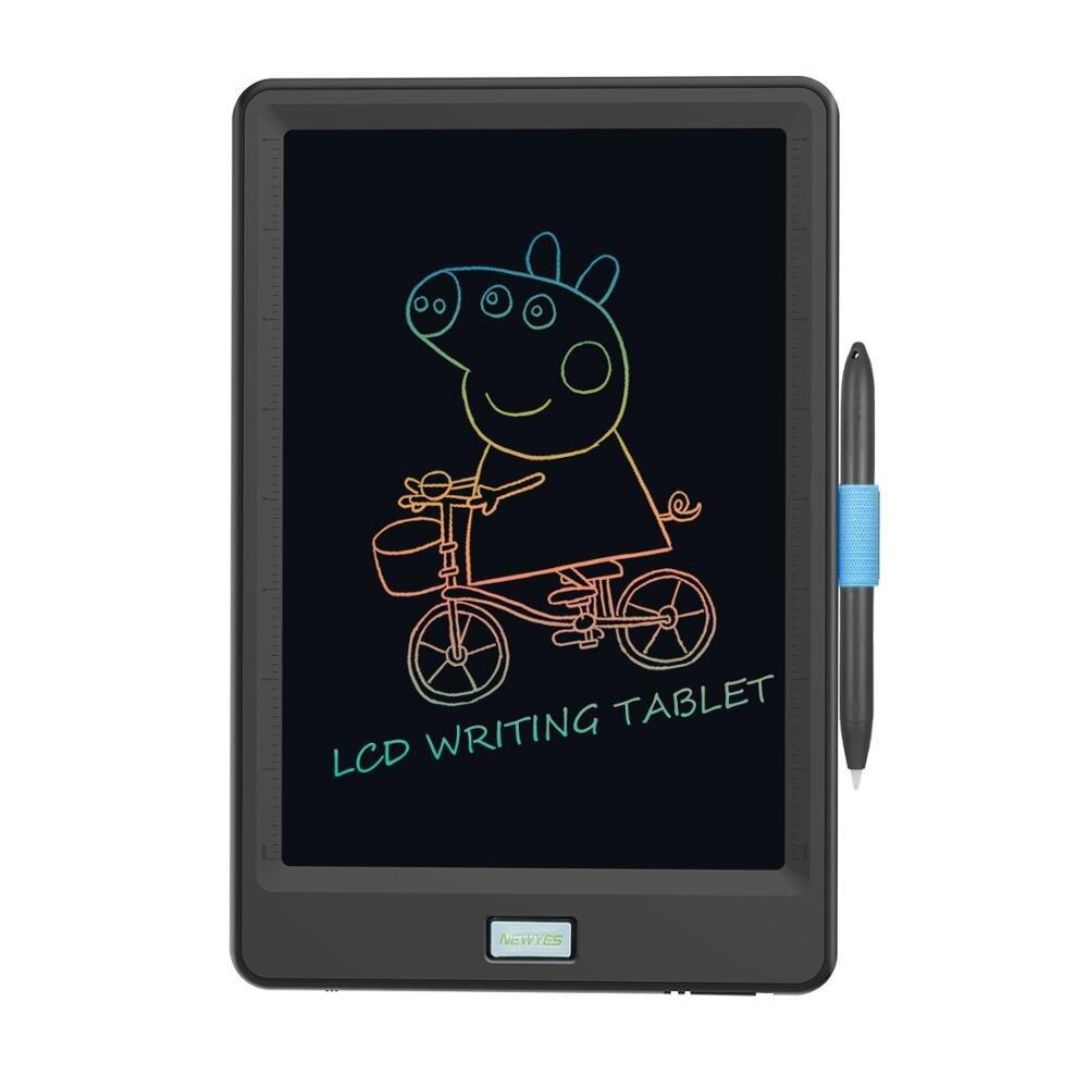 Планшет для рисования 10-дюймовый ЖК-планшет для письма Электроника графический планшет для рисования красочная версия с функцией блокиров...