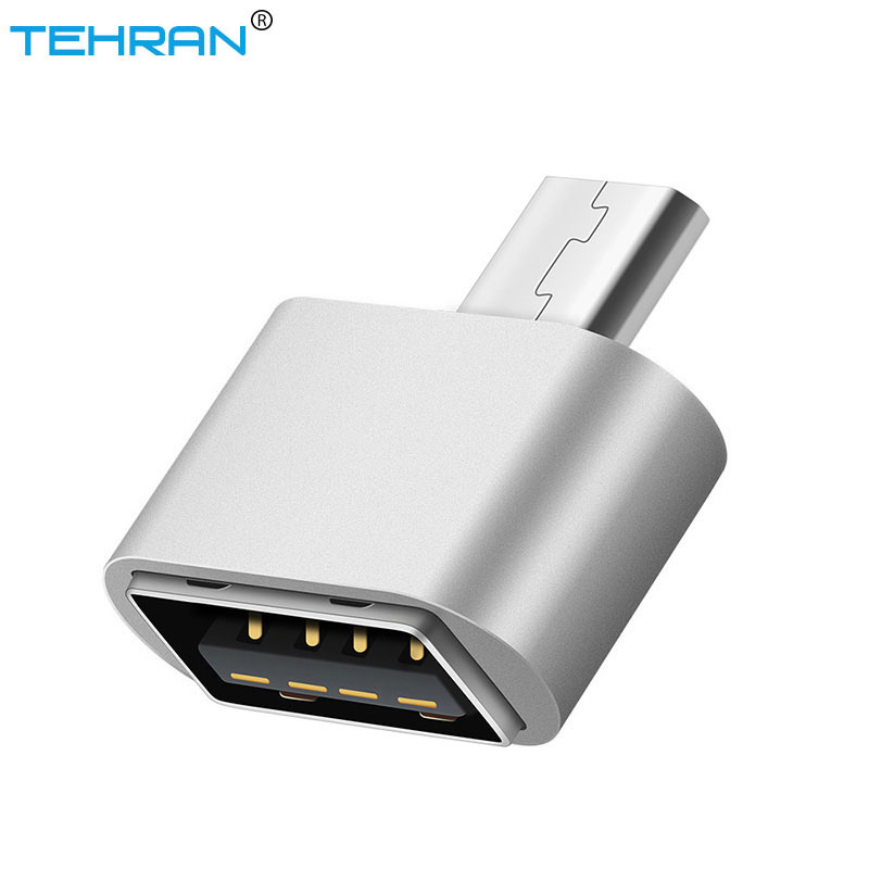 TEHRAN Mini Micro USB OTG Adapter For Flash Drive PC OTG Converter For Samsung Xiaomi Huawei Micro USB To USB OTG Cable Reader