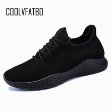 COOLVFATBO Men Casual Shoes Brand Men Shoes Men Sneakers Fla