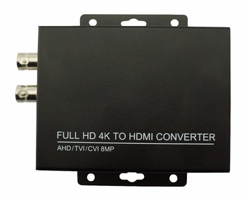 2020 bezpieczeństwo 4K CVI TVI 8MP ADH 5MP kamery konwerter do monitorowania kamer CCTV HD wsparcie upto AHD 5MP TVI 8MP CVI 8MP tanie i dobre opinie safeguide HDC-C or HDC-T Video Converter