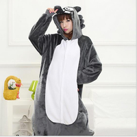 Hot Selling Women's Timber Cosplay Adult Animated Cosplay Costume Full Sleeve Polyester Sleep Lounge Onesies Pajamas For Men