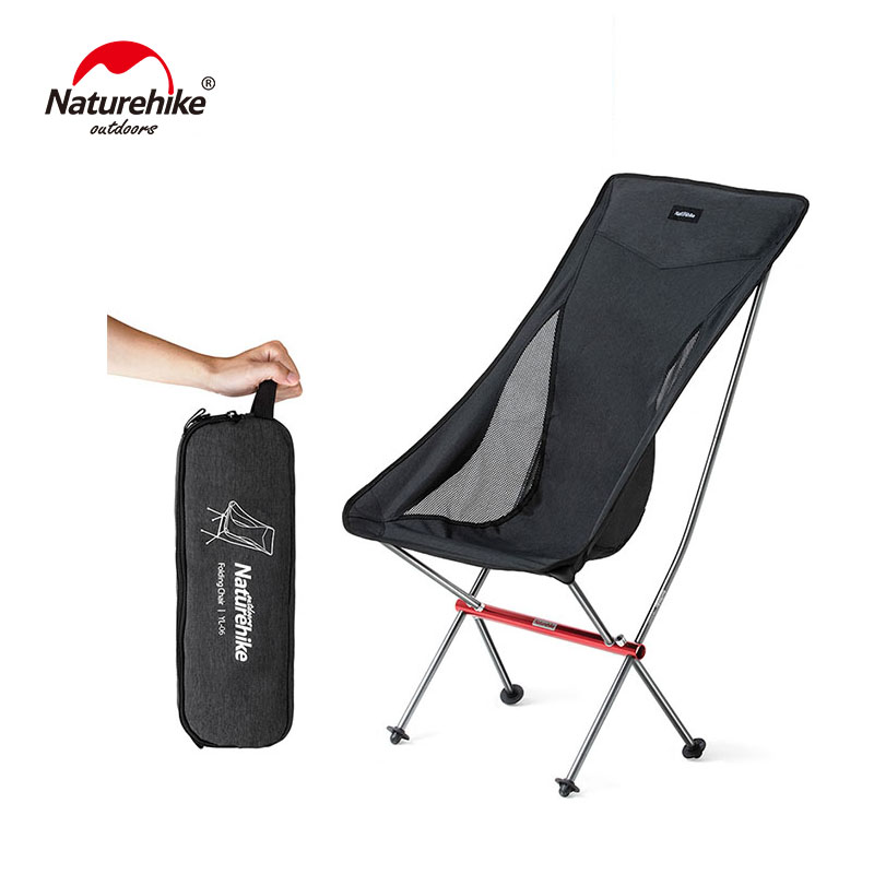 Naturehike Portable Ultralight Camping Chair Outdoor Folding Fishing Chair Alluminum alloy Beach Picnic Chair NH18Y060-ZNaturehike Portable Ultralight Camping Chair Outdoor Folding Fishing Chair Alluminum alloy Beach Picnic Chair NH18Y060-Z