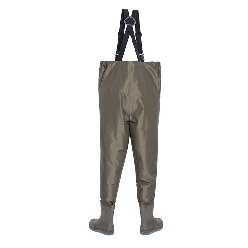 Outdoor EU 36-48 fishing wading trousers men women Non-slip wear wader pants breathable waterproof Chest Waders overalls pants