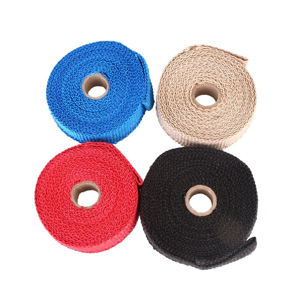 For Exhaust Pipe Heat Shield Wrap Heat Insulation Bashofu Kit Useful Car Supply