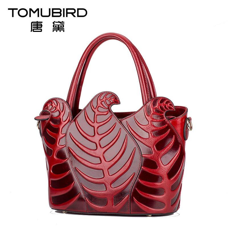 2017 New women genuine leather bag famous brands luxury head layer cowhide chinese style women leather handbags fashion leather handbags luxury head layer cowhide leather handbags women shoulder messenger bags bucket bag lady new style