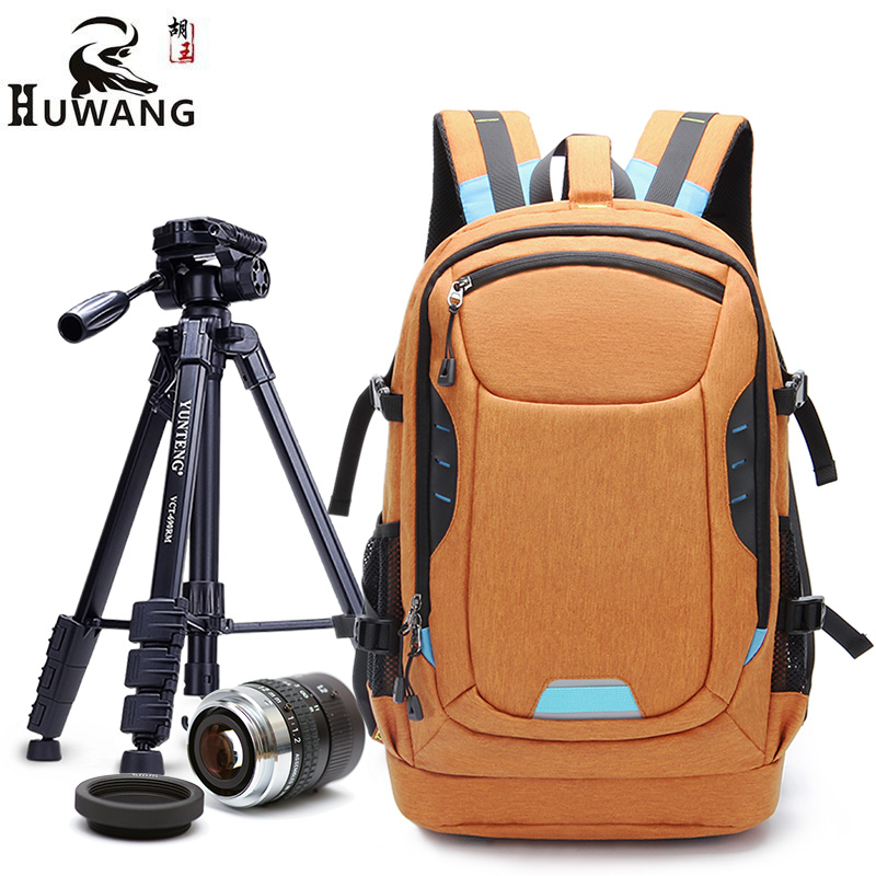 Multi-functional Photography Waterproof Digital DSLR Photo Padded Backpack with Rain Cover